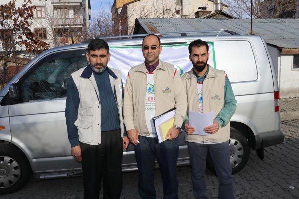 IHO-EBRAR, Bingöl'de muhtaçlara yardım dağıttı