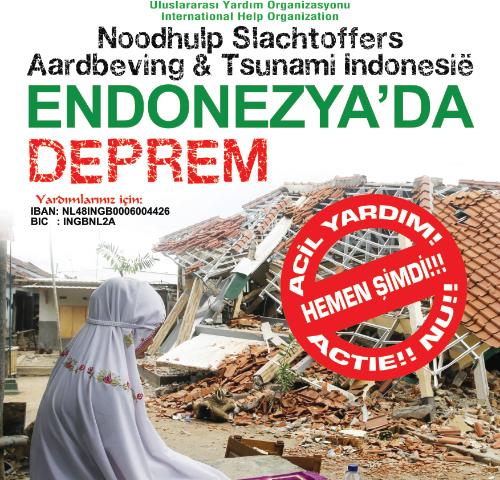 endonezya deprem acil yardim