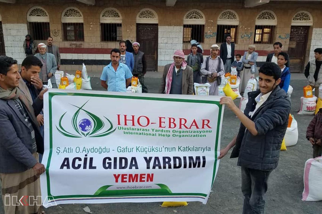 IHO EBRAR'ın Yemen'e yönelik yardımları devam ediyor