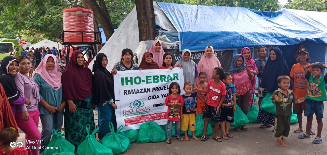 IHO Ebrar Ramazan'da Endonezyalı Depremzedeleri unutmadı
